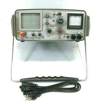 Tektronix 1502 Tdr Cable Tester As Is .