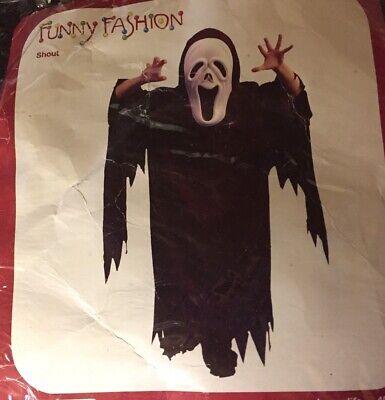 d Umhang mit Kapuze zum Halloween Fasching Karneval - Kostüm (Halloween-maske Und Kostüme)