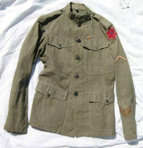 WW1 6th Division 78th Artillery Regt Uniform - Original W/ Insignia