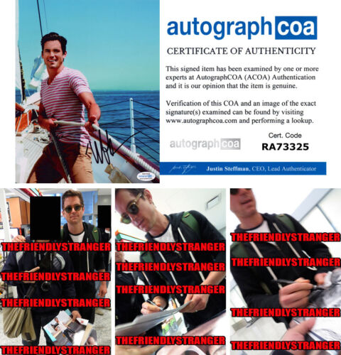 MATT BOMER signed Autographed 8X10 PHOTO c PROOF - Hot SEXY Doom Patrol ACOA COA