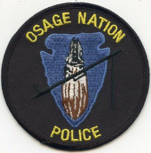 OSAGE NATION INDIAN TRIBE OKLAHOMA OK TRIBAL POLICE PATCH