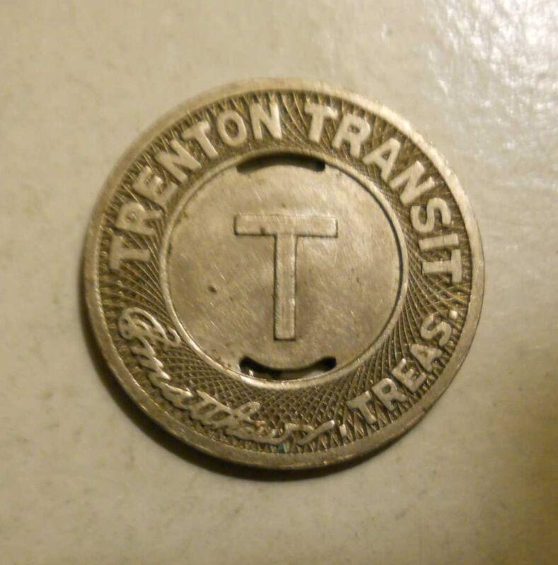 Trenton New Jersey NJ-885B ****ROLL OF 10**** Transit Tokens whotoldya Lot 12513