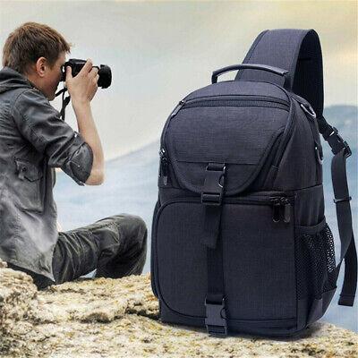 Single Sling Waterproof Camera Bag Case Backpack for Canon Nikon Sony Pentax SLR