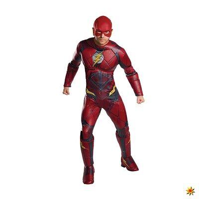 Kostüm Flash Deluxe Lizenzkostüm Fasching Filmheld - Adult Flash Kostüm