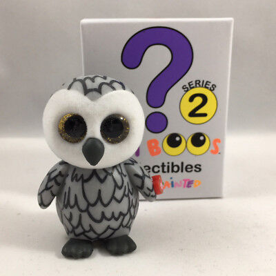 Ty Beanie Boos Mini Boo Series 2 Collectible Figure   Owlette The Owl  2 Inch