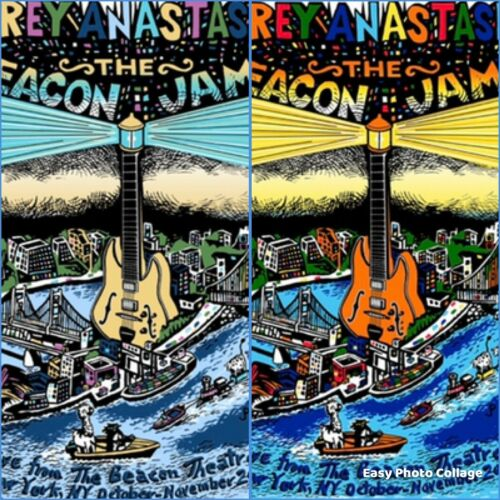 Jim Pollock Trey Anastasio - Beacon Jams 2 Print Set:  Regular + Color Variant🔥