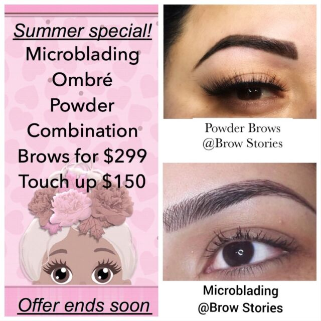Microblading47 Eyebrows Tattooing At Brow Stories For 299
