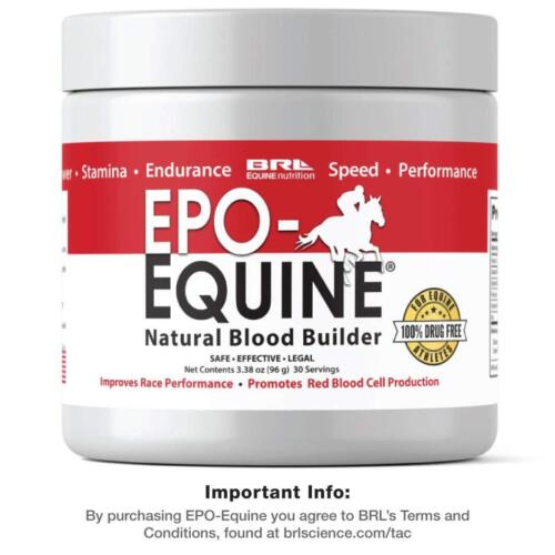 EPO-EQUINE - RACE HORSE Natural Blood Builder (30 servings) - OFFICIAL LISTING!