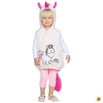 Babykostüm Einhorn Hoodie Pullover mit Kapuze Kleinkind-Kostüm Gr. - Einhorn Kostüme Kleinkind