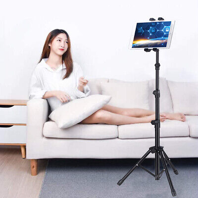 Foldable 54inch Tablet Stand Floor Holder for iPad Mini Air iPad 1,2,3,4 Swivel