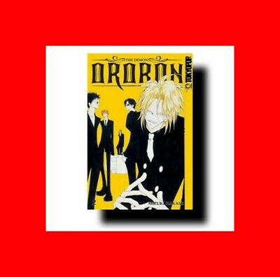 GRAPHIC NOVEL COMIC BOOK:TPB MANGA THE DEMON ORORON VOL 2-HAKASE MIZUKI TOKYOPOP
