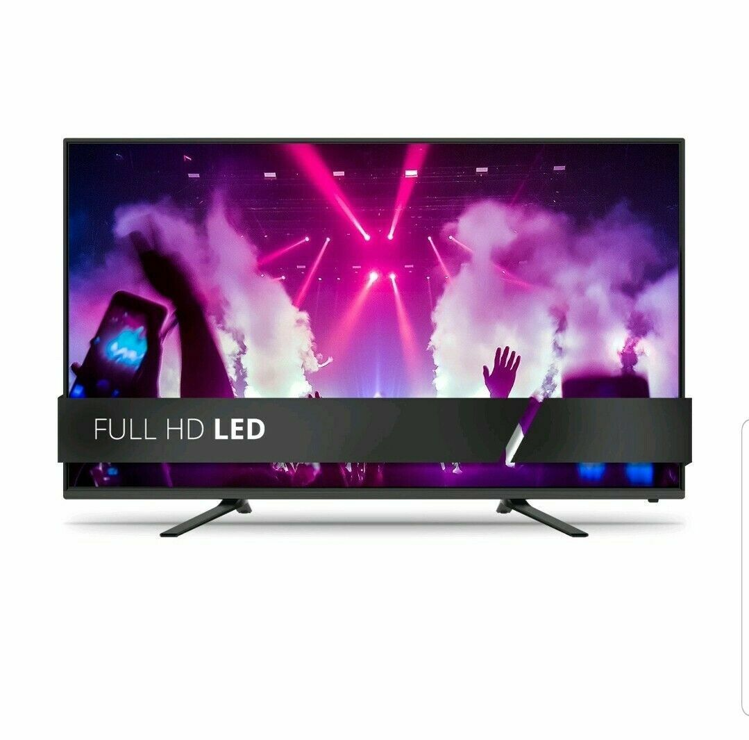 "JVC - LT-43MAW588 - 43"" Class 4K UHD 2160p LED Roku Smart TV"