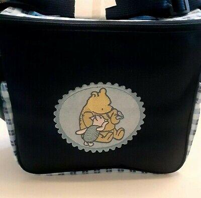 Classic Pooh mini diaper bag New bottle bag piglet blue for Baby Shower Gift -