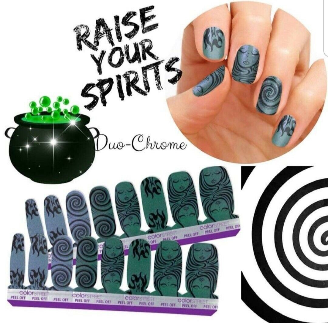 Raise Your Spirits Color Street Nails Retired HTF - $20.50