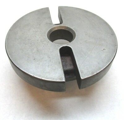 12 Dog Drive Lathe Face Plate W D1-8 Mount - Stamped U.s. Anchor