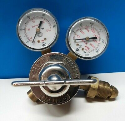 Smith 31-50-580 Single Stage Flow Gauge Flowmeter Regulator Argon - C25 F