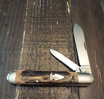 Northwoods Knife Mammoth Ivory English Jack. Dave Shirley