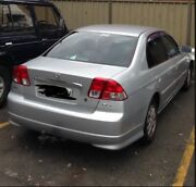 Honda Civic 2005 Wiley Park Canterbury Area Preview