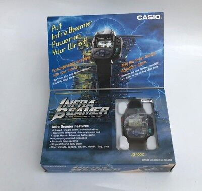 CASIO JG-100C - Infra Beamer Remote Watch Super Rare Vintage - Japanese Watch