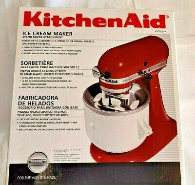 Kitchen Aid - ICE CREAM MAKER - Stand Mixer Attachment