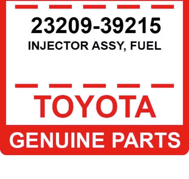 23209-39215 Toyota Oem Genuine Injector Assy, Fuel