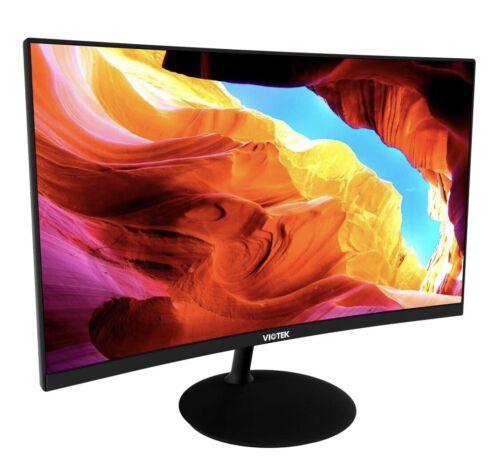 VIOTEK NBV24CB 24-Inch Curved Monitor 75Hz FHD 1080p Desktop