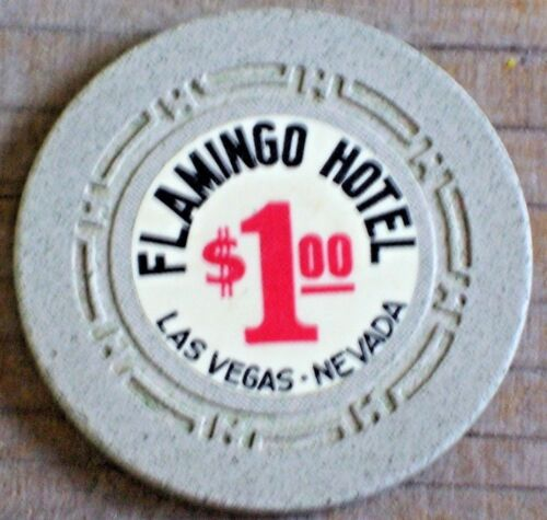 $1 7TH EDT GAMING CHIP FROM THE FLAMINGO CASINO LAS VEGAS NV R6