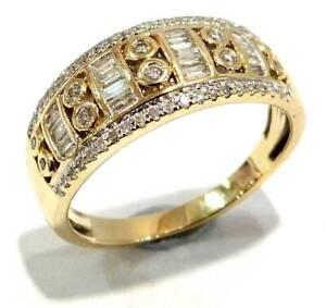 9ct Yellow Gold Diamond Ring Size Q $795-229272