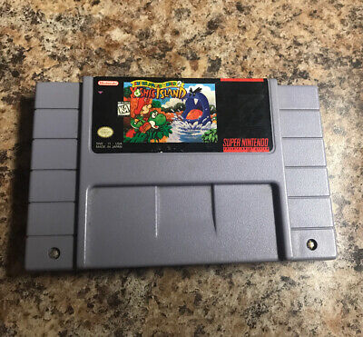 Super Mario World 2: Yoshi's Island - Super Nintendo