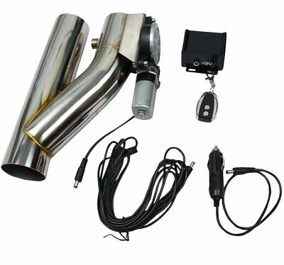 E-Cut Out Valve Controller  Kit 3inch Electric Exhaust Remote Finely Processed for sale  Pennsauken