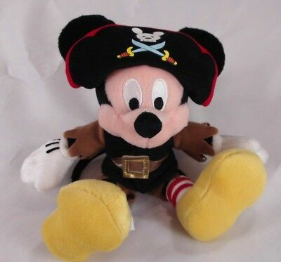 Vintage Disney Store Mickey Mouse in Pirate Costume 6