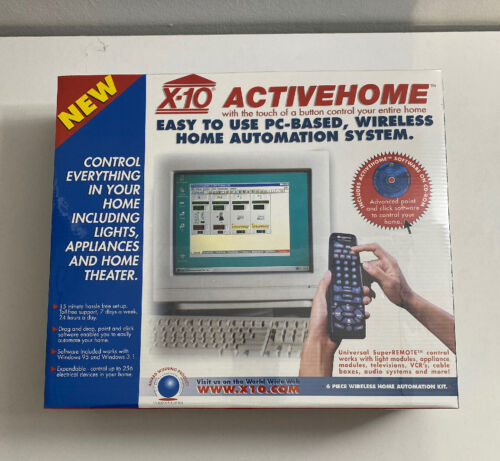 BRAND NEW Sealed X-10 ActiveHome PC-Based Wireless Home Auto