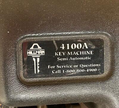 Hillman Key Machine 4100a Key Machine - Manual Key Copier