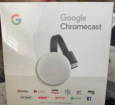 Google Chromecast 3rd Generation (Latest)