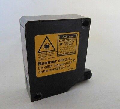 New Baumer Electric Laser Distance Sensor Ohdm 20p6990s14c