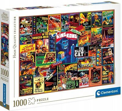 Clementoni Puzzle 1000 pièces Thriller Classics 39602 High Quality Collection