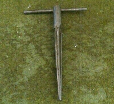 Vintage T Handle Tapered Reamer Tool Used