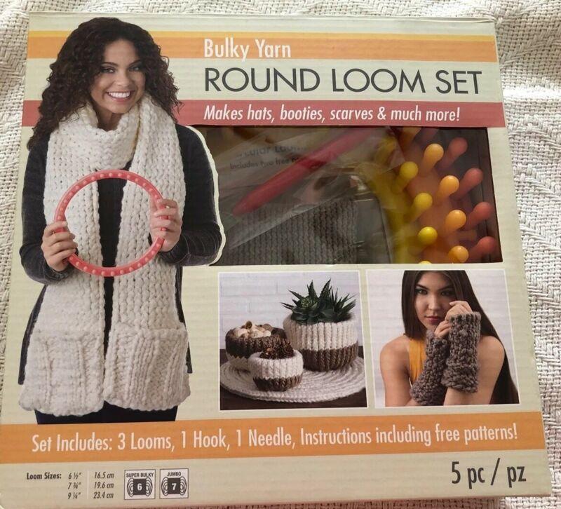 Boye Circular Bulky Loom Set   070659938344