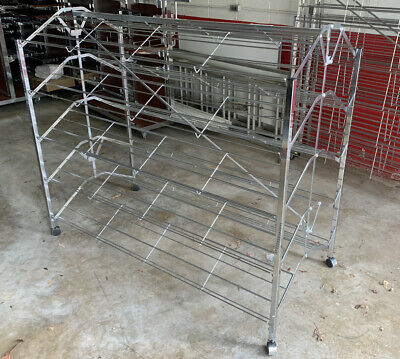 Commercial Double Sided Shoe Rack - Versatile For Many Uses
