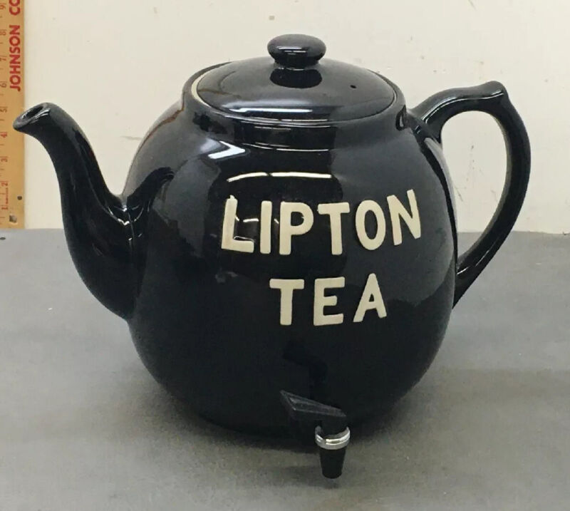 Mint Hall Lipton Iced Tea Dispenser Restaurant Vintage Excellent