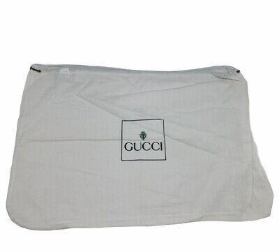 Vintage Authentic GUCCI Dust Cover Pouch Bag Drawstring Large AB