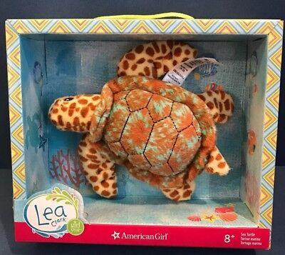 AMERICAN GIRL LEA CLARK SEA TURTLE  New In Box Toy Pet Plush Gift Plush AG