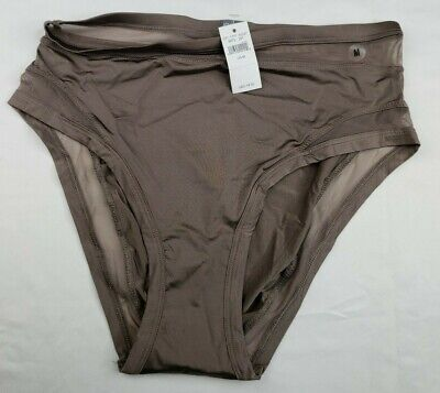 Aerie By American Eagle Stone High Cut Panties Size M Medium