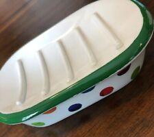Pottery Barn Kids Rare Very Hungry Caterpillar Soap Dish