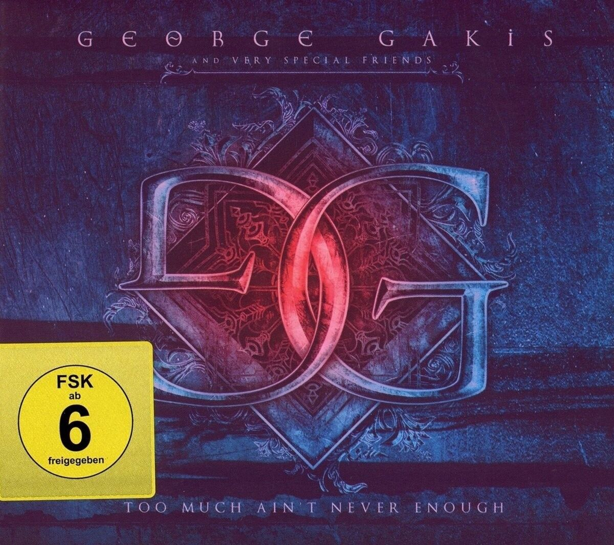 GEORGE KAKIS - TOO MUCH AINT NEVER ENOUGH (RE-ISSUE)   CD NEU