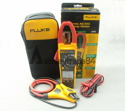 1pc Fluke 376 Wireles True-rms Auto Clamp Meter Multimeter Tester Iflex Probe