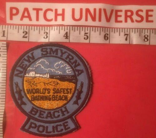 VINTAGE NEW SMYRNA  FLORIDA POLICE SHOULDER PATCH  E077