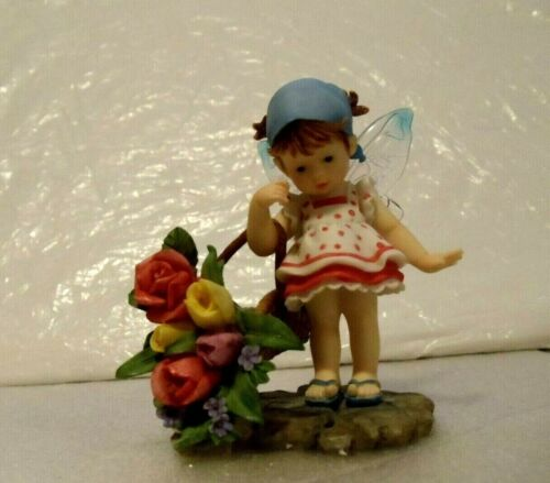 MY LITTLE KITCHEN FAIRIES  -  FRESH FLOWERS  -  NEW IN BOX - MOTHERS DAY GIFT ?