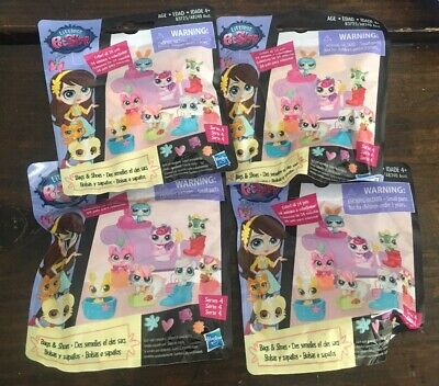 4 Littlest Pet Shop Bags & Shoes Series 4 Mystery Blind (Littlest Pet Shop Blind Bags Series 4)