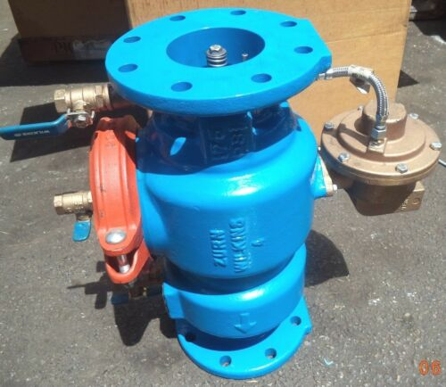 "Zurn® Wilkins 4""-reduced Pressure Rpz Principle Backflow Preventer, P/n 4-375l"